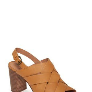 NEW Madewell Cindy Braided Sandals Shoes Brown 9